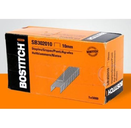 Bostitch Staples 10mm TGA/T3020 Box of 5.000 Pieces, 12BOSSB302010 (Box of 5.000 Pieces)
