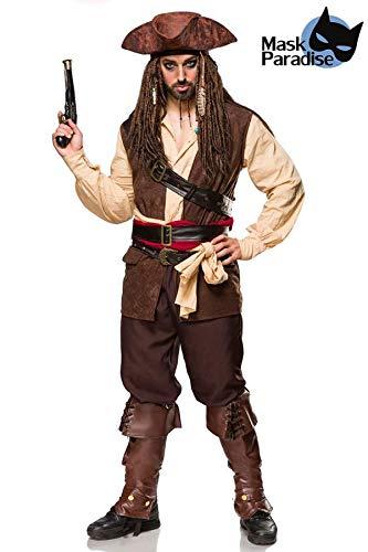 MASK PARADISE Kostümset Captain Jack (Captain Jack Herren Kostüme)