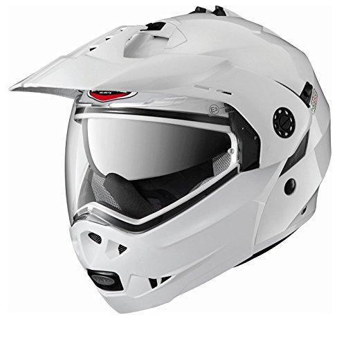 Caberg Tourmax Motorcycle Helmet L White