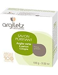 Argiletz Savonnette à l'argile verte parfum Cologne 100ml