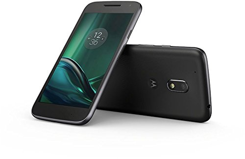 Moto G4 Play - Smartphone libre Android  4G  5   Dual SIM  c  mara de 8 MP  2 GB de RAM  memoria interna de 16 GB   negro