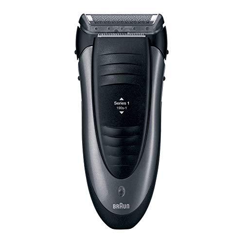 Braun Series 1 Elektrorasierer 190s-1, schwarz/silber