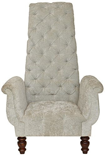 The Village Shop TVSLIV37 Armchair (Melamine Finish, Brown)