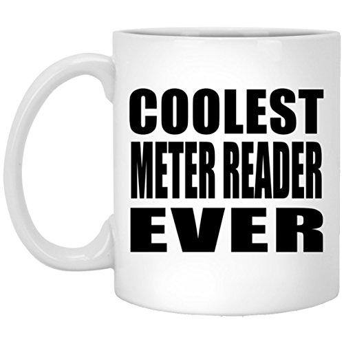 Designsify Coolsten Meter Reader Ever–11oz Kaffeebecher, Keramik Tasse, Beste Geschenk für Geburtstag, Hochzeit, Jahrestag, Neues Jahr, Valentinstag, Ostern, Muttertag/Vatertag