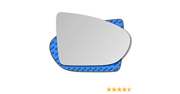 Hightecpl 252RS Right Driver Side Convex Door Wing Mirror Glass