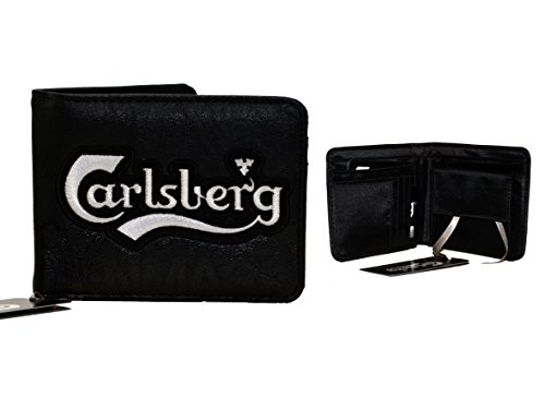 Carlsberg Portafoglio uomo Copenagen Denmark (Nero)