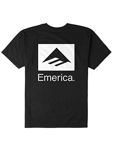 Herren T-Shirt Emerica Brand Combo T-Shirt Black
