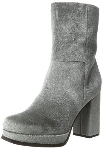 Bianco Plateau Boots, Bottes Classiques femme Gris foncé