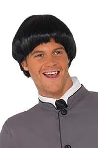 60s Bowl Wig - Black
