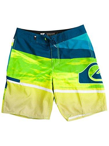 Quiksilver Kinder Jungen-bademode (Kinder Boardshorts Quiksilver Slash Logo Vee 16 Boardshorts Jungen)
