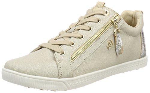 s.Oliver Damen 25201 Sneaker, beige (champagner), 39 EU