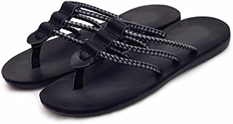 ZGSR-F Chanclas Zapatillas para Hombres Antideslizantes Sandalias De Playa Verano