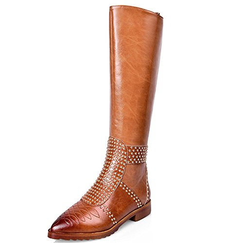 Nine SevenKnee High Boots - Stivali donna Brown
