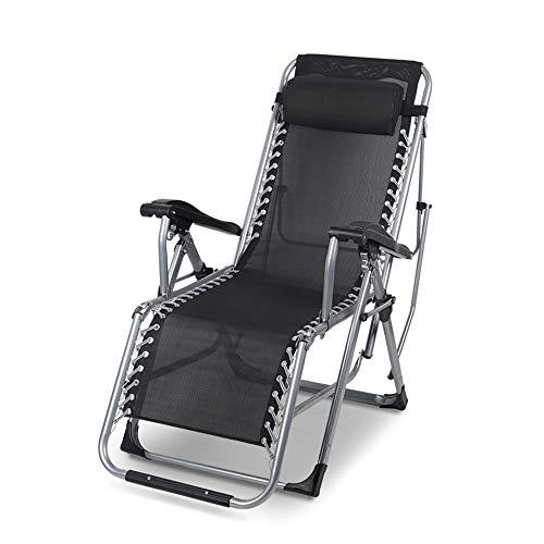 Axdwfd Liegestuhl Lounge Chair, zusammenklappbarer Nap Mittagessen Bett Multi-Funktions-Back Home Tragbare Nag Stuhl Freizeit Schwangere Frauen Verlassen Sie Sich auf Stuhl