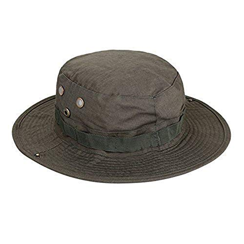 Carry stone Herren Outdoor Camouflage Hut breiter Krempe Dschungel Wandern Runde Angeln Hut langlebig und praktisch