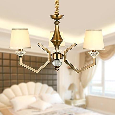 CLG-FLY Nordic moderno lampadario antica sala da pranzo lampadari di semplice unione lampadina a candela living room bedroom lampade,senza luce,3