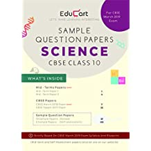 CBSE Sample Question Papers Class 10 Science (For March 2019 Exam)