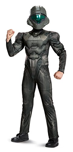 Spartan Buck Muscle Chest Costume Child Costume 14-16