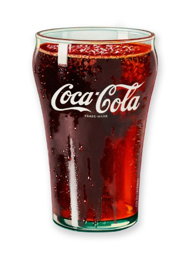 Coca-Cola Glass Dicker Klobiger Kühlschrank - Magnet (nm)