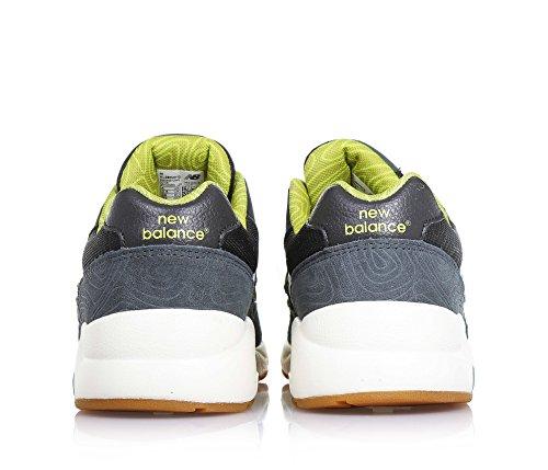 "Boys Sneakers ""KL 580 Wanderlust"" Schwarz-Seladongrün-Weiß"