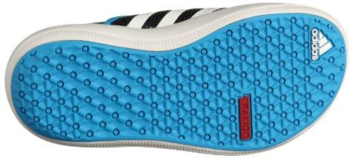 adidas Performance  Boat Slip-On K, Chaussures de fitness outdoor garçon Bleu-Noir