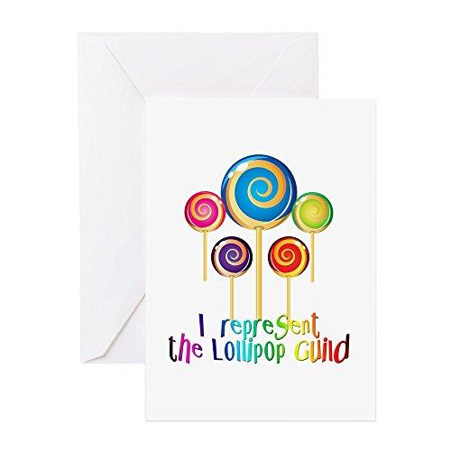 (CafePress, Guild,–Grußkarte, Note Karte, Geburtstagskarte, innen blank, matt)