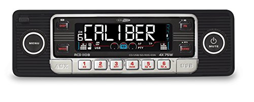 Caliber RCD110B Kfz-Radio mit MP3-Player (1-er Stück, SD-Kartenslot, AUX-IN, USB) (Club-car-computer)