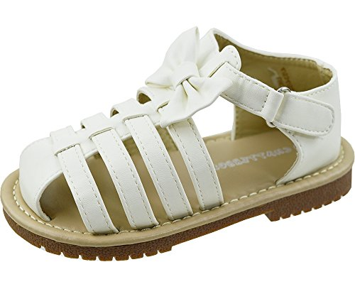 girls-sandals-kids-casual-summer-beach-shoes-sandals-infant-sizes-white-pink-uk10-infant-white