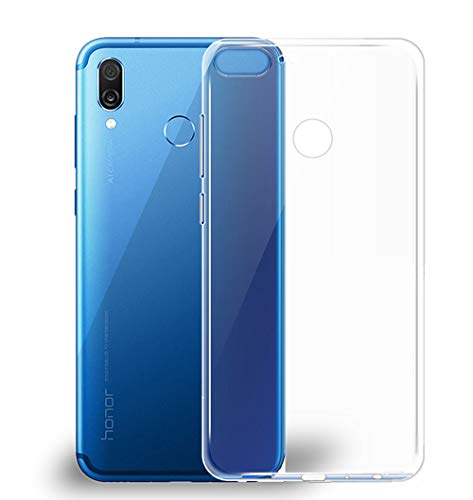Huawei Honor Play Hülle, Beetop Schutzhülle Handyhülle Transparent Weiche Silikon TPU Rückschale Case Cover für Huawei Honor Play - Transparent