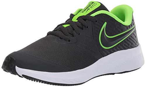 Nike Star Runner 2 GS, Zapatillas de Running Unisex Niños, Negro Anthracite/Electric Green/White...