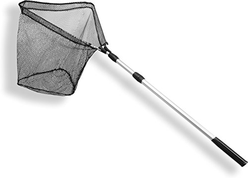 PLATZWUNDER! Unterfangkescher klappbar Kescher teleskopierbar, ausziehbar Angelsport Fishing Angeln bis 190 cm