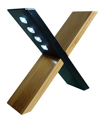 PowerPlus Sphynx-Solar Design Licht, Stahl, schwarz