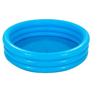 Intex - Piscina hinchable con 3 aros, 147 x 33 cm, 288 l, color azul  (58426NP)