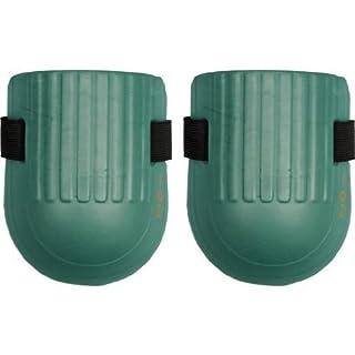 Knieschoner grün Weichschaum mit Klettverschluss