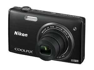 Nikon Coolpix S5200 Digitalkamera (16 Megapixel, 6-fach opt. Zoom, 7,6 cm (3 Zoll) LCD-Display, Bildstabilisator) schwarz