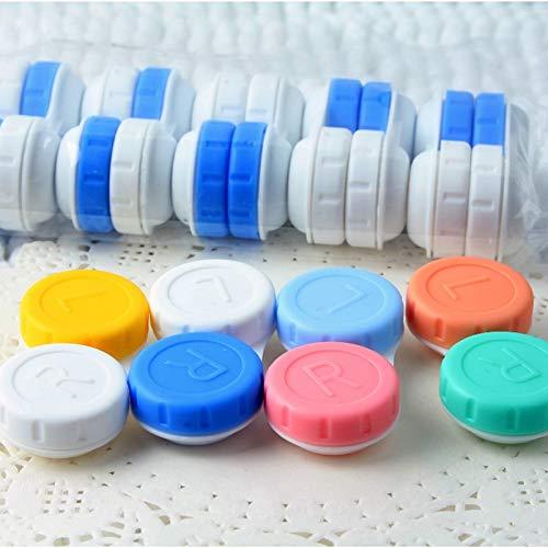 Denghui-Objektiv, 4 Stück, für Brillen, Kosmetik, Kontaktlinsen, Box für Kontaktlinsen, für Augen, Reise-Set