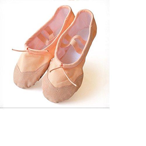 baysa-zapatillas-de-ballet-de-lino-con-refuerzo-de-cuero-salmon-talla-33