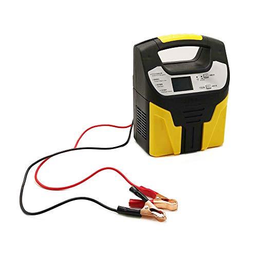 QWERTOUY Salta / 220V Protezione di identificazione di Sicurezza Eightfold Automatica Starter 12V / 24V caricabatteria da Auto di Emergenza Display LCD 110V