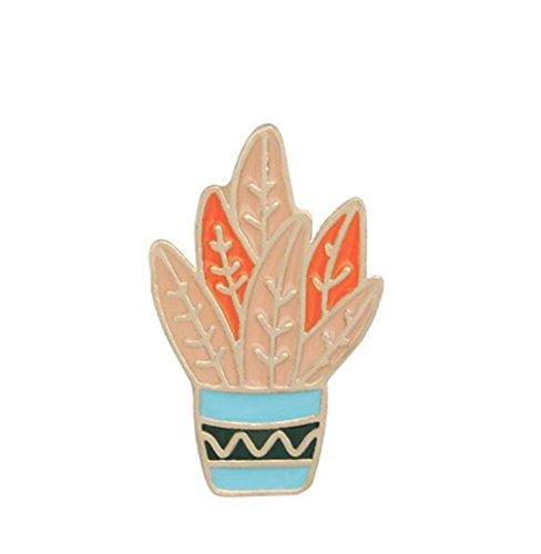 Sun Hero Mode und Neuheit Individuelle Kaktus Exquisite Broschen Button Badge Kleidung Zubehör