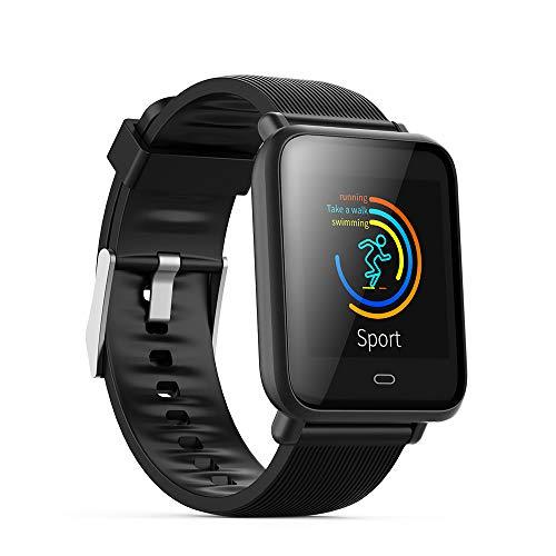 ZZALL Erwachsene Smart Watch Herzfrequenz Blutdruck Multifunktions-Doppelarmband (A)