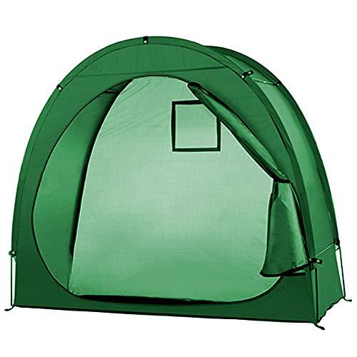 Lixada Fahrradzelt Fahrradaufbewahrungsschuppen 190T Fahrradaufbewahrungsschuppen mit Fensterdesign für Outdoor Camping