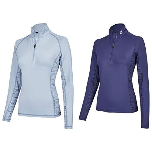 Arctic Blue T-shirt (Busse Damen Langarmshirt Stina TECH TOP Arctic Blue M)