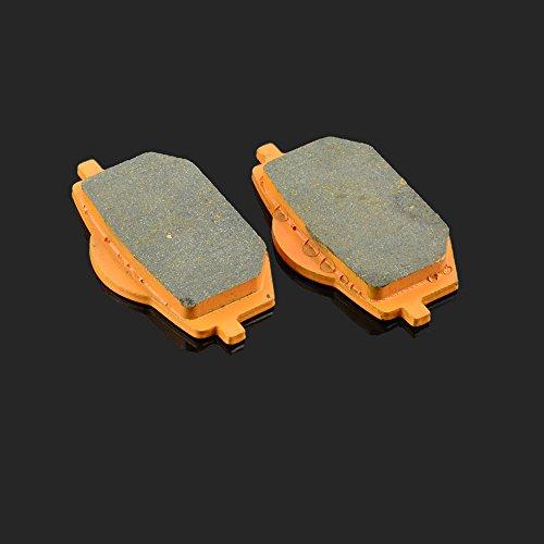 80x 40x 9.8mm 1coppia pastiglie freno anteriore per Yamaha XV 535Virago 88-94