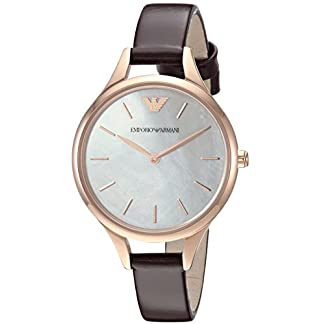 Emporio Armani Analog Mother of Pearl Dial Women's Watch-AR11057