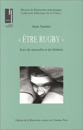 Descargar Libro Etre Rugby : Jeux du masculin et du féminin de Anne Saouter