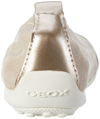 Geox Jr Piuma B, Ballerines Fille Beige (Beigec5000)