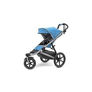 Thule Urban Glide 2.0 Jogging Stroller (Thule Blue w/Silver Frame)   2