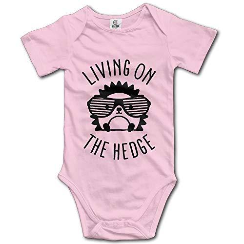 Cutee Living On The Hedge Hedgehog with Glasses Babysuit Infant Jumpsuit Kawaii Baby Girls Boys Romper Bodysuits Usa Infant Bodysuit