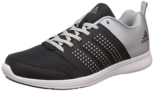 adidas Men's Adispree M Black and Metsil Running Shoes - 10 UK/India (44.67 EU)