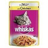 Whiskas cat chicken pouch 24/100g